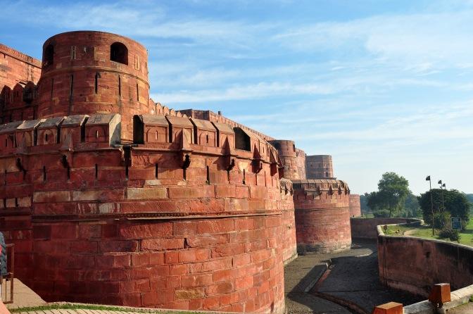 O incrível Forte de Agra